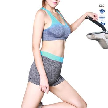 6e2a184135f12 Factory Wholesale Women Comfort Seamless Sports Bra And Panty Set ...