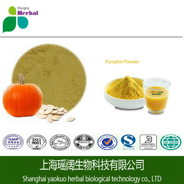 2016 Hot Selling Pure Pumpkin Juice Powder Bulk Pumpkin Puree Powder