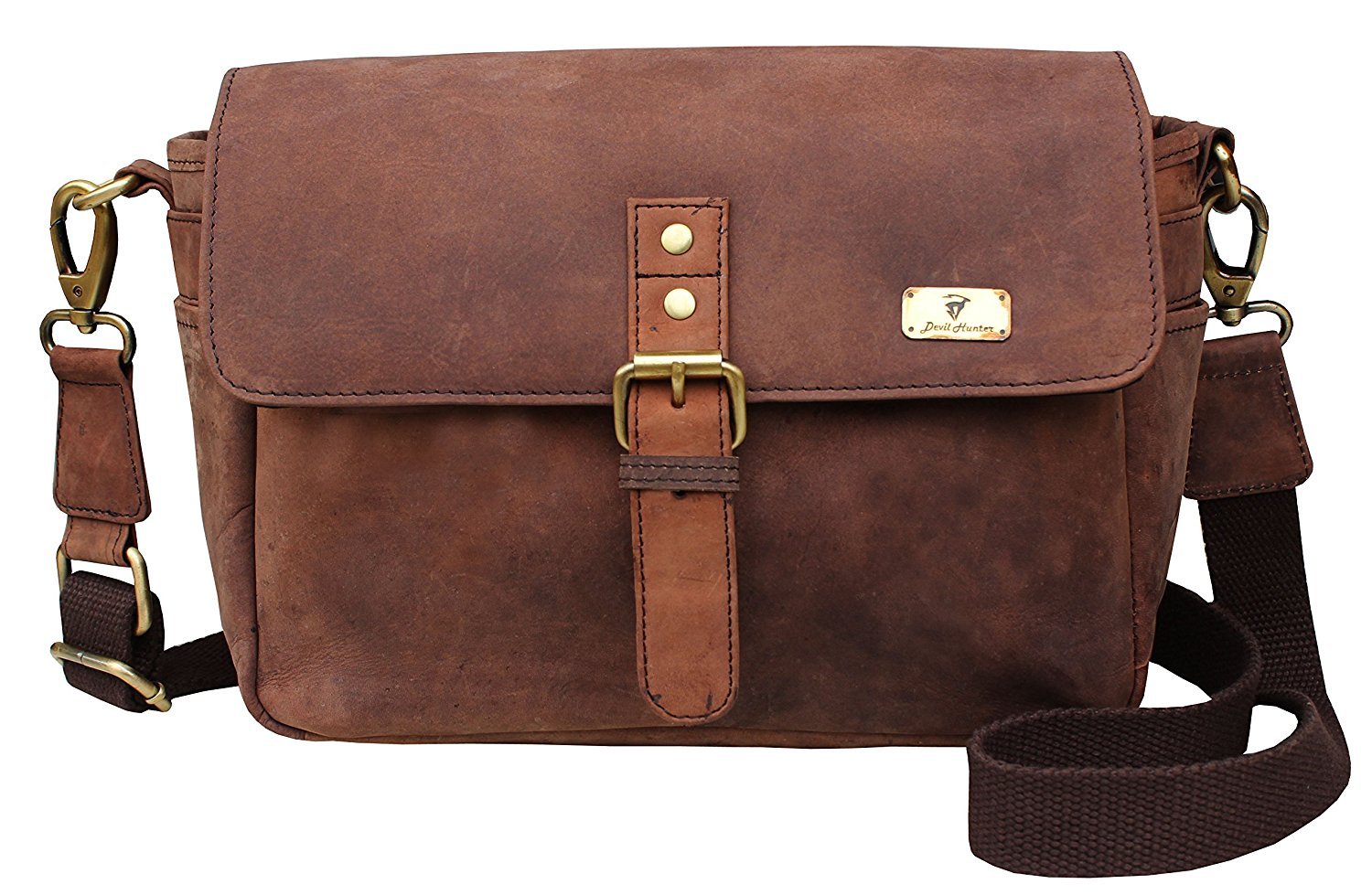 DH Handmade Vintage Style Camera Bag / Messenger / Camera Briefcase / camera Messenger Bag / dslr Bag