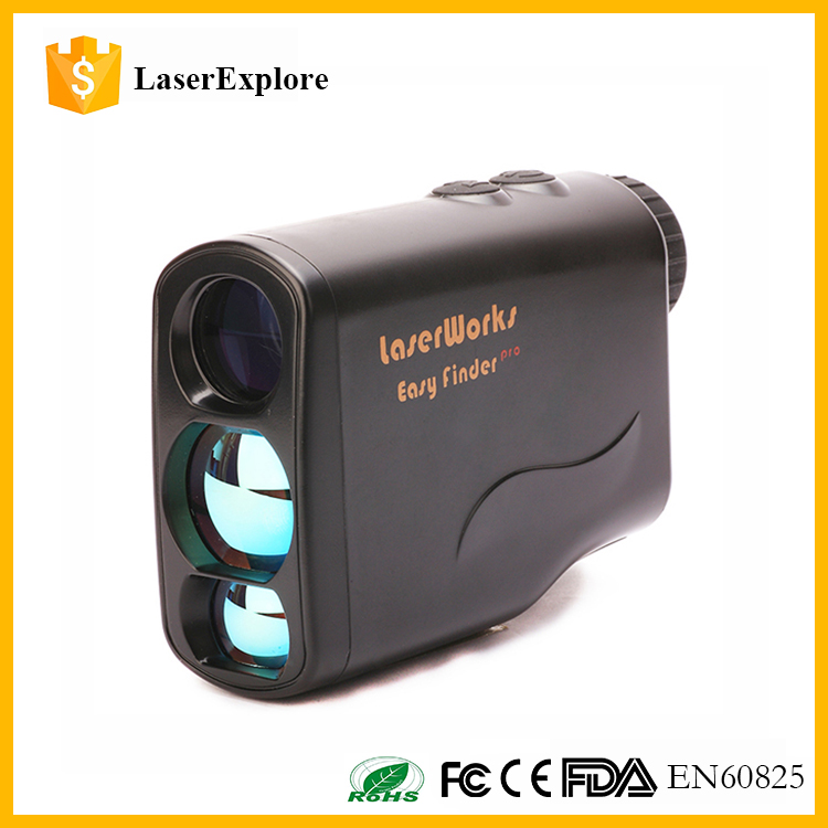 CR2 Battery Power Handheld Outdoor Golf Distance Telescope Laser Rangefinder for Hiking and hunting