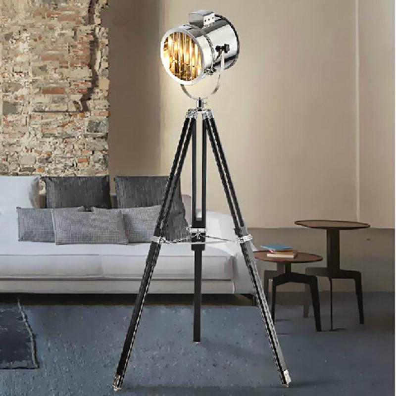 modern spotlight tripod floor lamps for living room abajur photography light projector standing. Black Bedroom Furniture Sets. Home Design Ideas