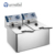 FURNOTEL | Commercial Electric Home Made Potato Chips Fryer Machine with Oil Draining Tap FSEFR-0604