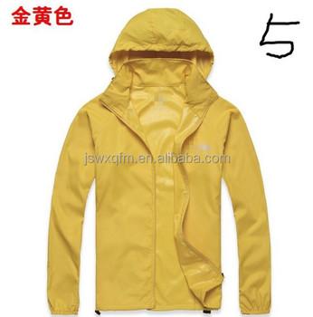 Summer Raincoats /light Rain Jacket For Lades Polyester Rain ...