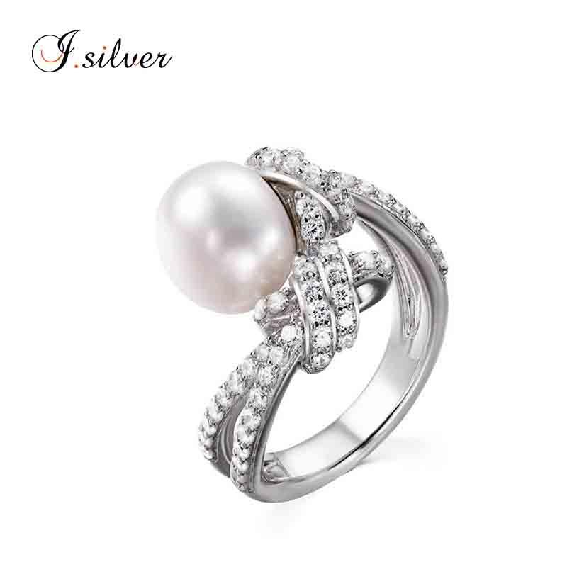 209bb2e8b Venta al por mayor anillos de compromiso con perlas-Compre online ...
