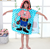 New 60x90cm Children Cute Cartoon Cloak Beach Towel Animal Boys Girls Kids Bath Towel