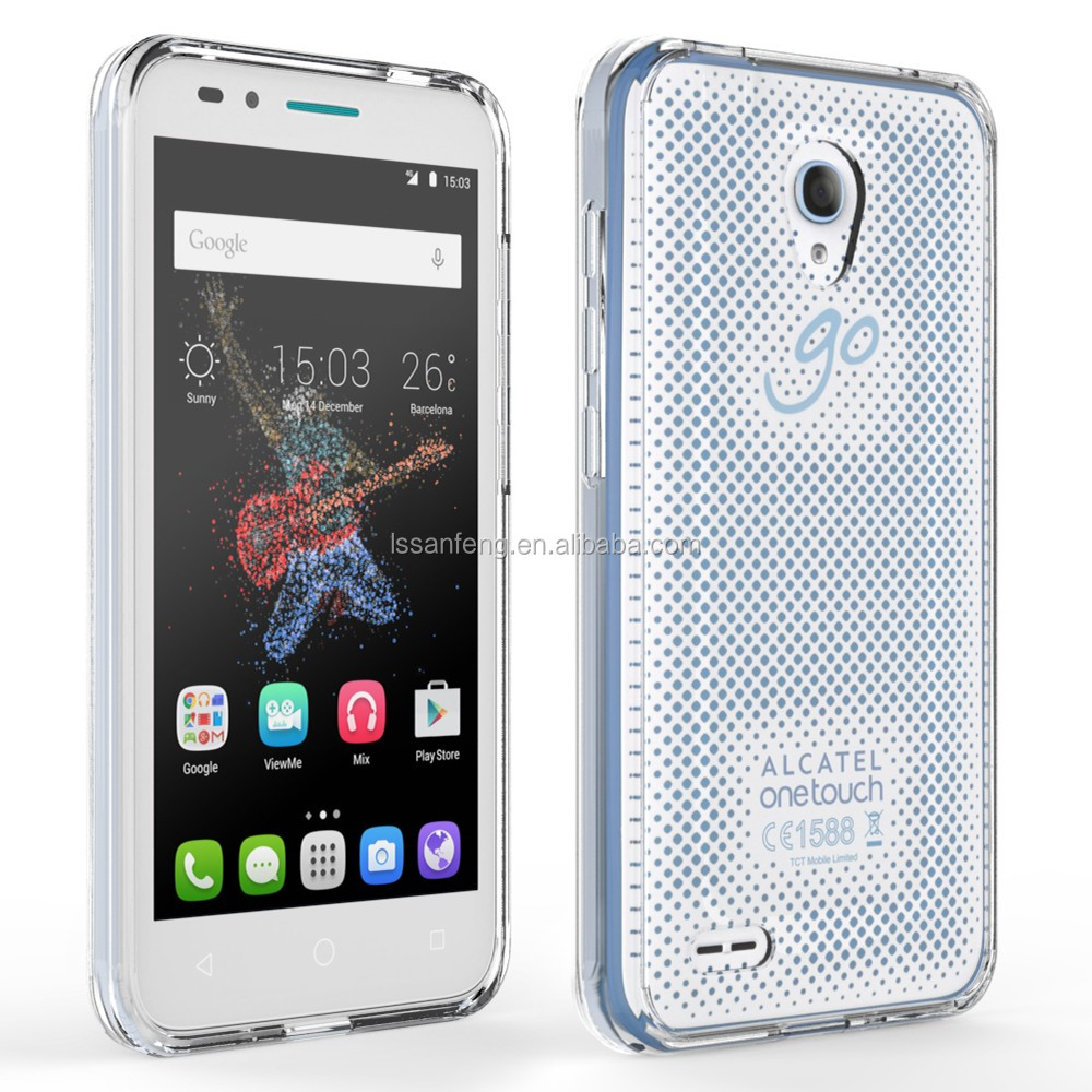 New Arrival TPU+ Acrylic Wholesale Phone Case for Alcatel go play