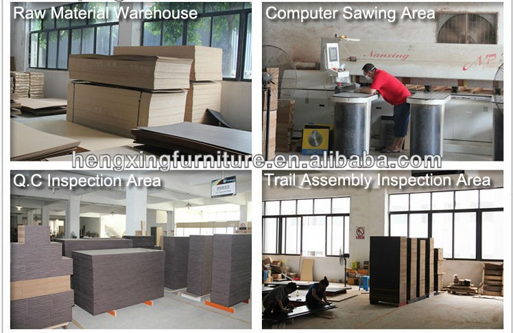 Wholesale office furniture executive black 15mm thickness tempered