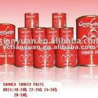400g Canned tomato paste 28-30%for Nigeria Market hot sale