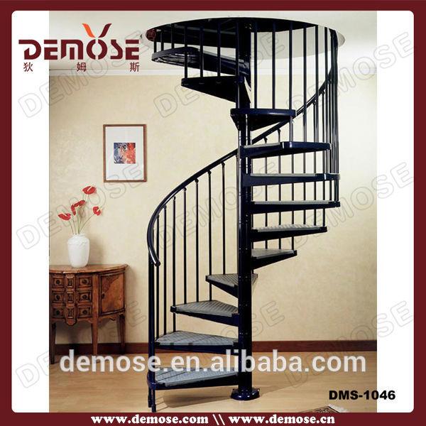 De hierro forjado escalera de caracol escalera de hierro - Escaleras de hierro forjado ...