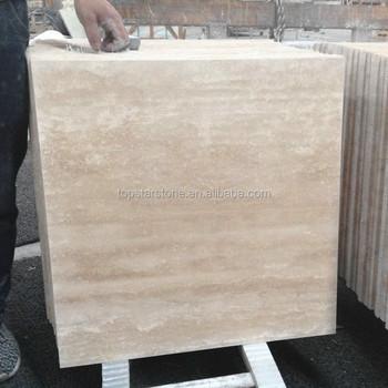 White Color Travertine Marble Classic Roman Travertine Wall Paver