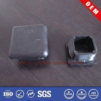 High quality 2 inch plastic end plugs for square tubing