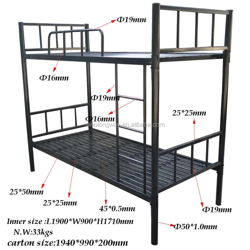 strong prison metal bunk bed buy metal bed bunk bed