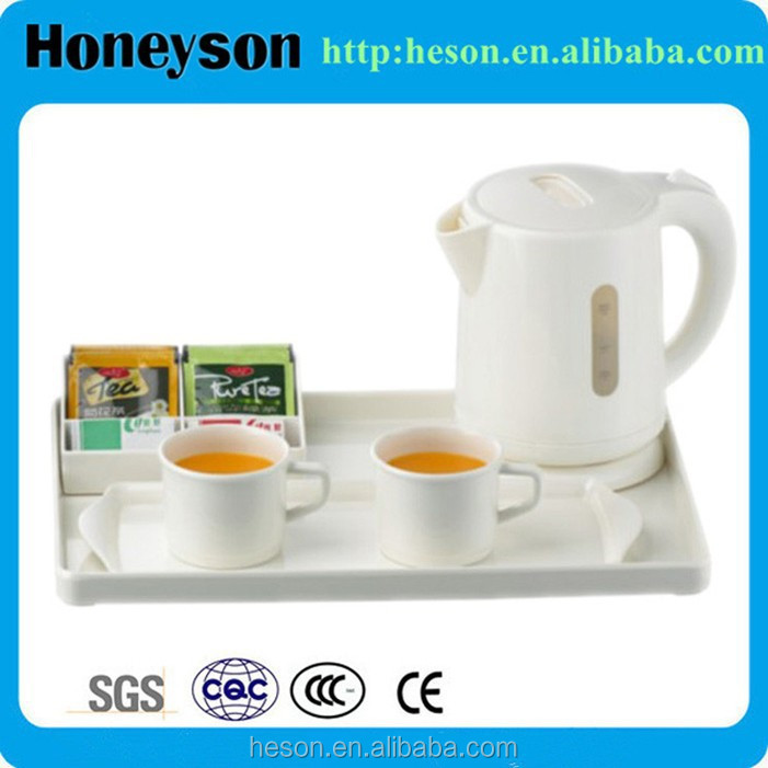 Hotel housekeeping supplies kettle tray set