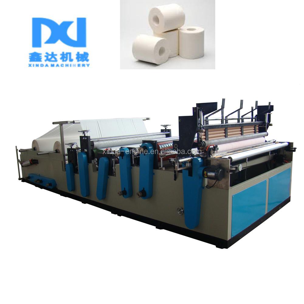 Machine Of Toilet Paper Maker,Edge Embossing Towel Paper Toilet ...