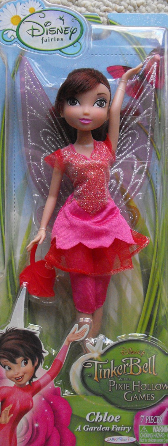 Disney Fairies Tinkerbell and the Pixie Hollow Games ~ 9'' Chloe