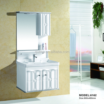 2016 Hot Bathroom Furniture Cabinet Plastic Mirror Dubai