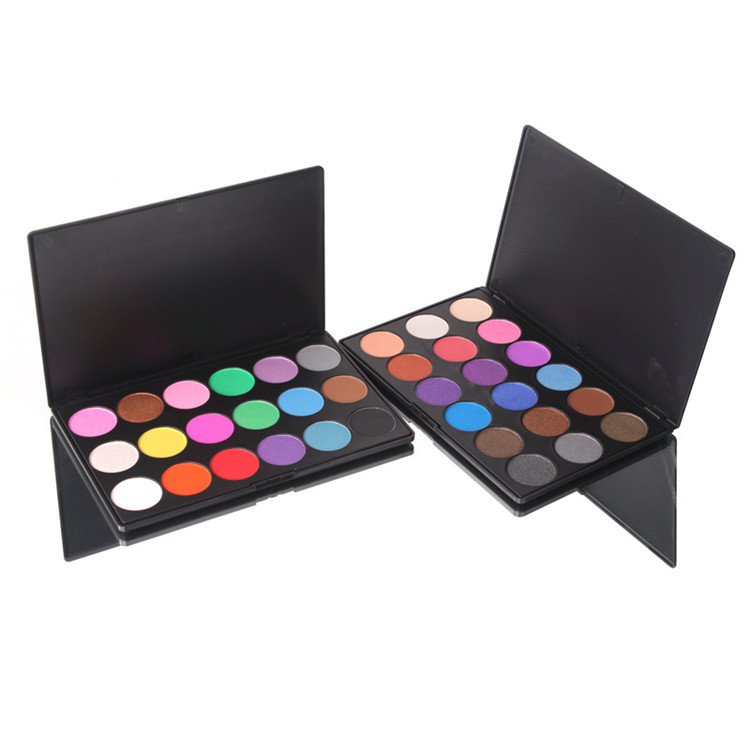 Wholesale custom makeup 18 color private label eyeshadow palette