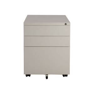 Small Easy Pedestal 3 Drawers mobiles Cabinet With Wheels