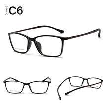 Ретро оправа для очков прозрачные линзы для мужчин и женщин оптическая оправа очки TR90 мягкие ноги Gafas De Ver 1807 прозрачные модные очки(Китай)