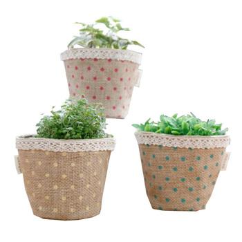 Whole Eco Friendly Nursery Flower Basket Pots Jute Plant Grow Bag Product On Alibaba