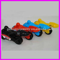fashion plastic multi color motorcycle novelty kids pens