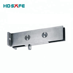 Stainless Steel swing glass door wall mounted solid Patch Fitting & Glass Door Clamp