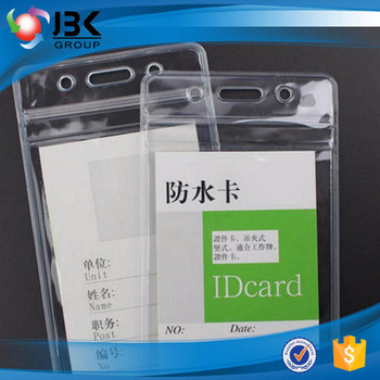 Free design vertical badge id card holder