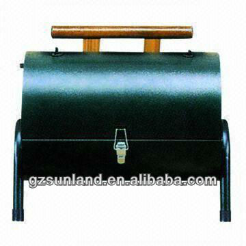Brother/Double Charcoal, Camping/Twin/Camping Picnic Gas BBQ Grill, Available in Various Colors