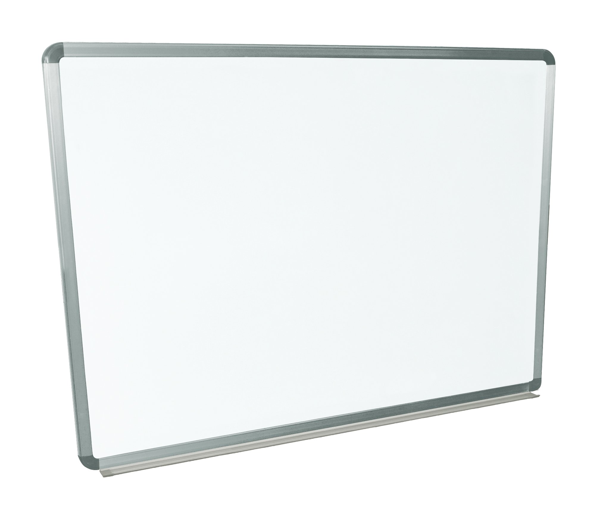 "Luxor 48""W x 36""H Wall Mounted Magnetic Surface Whiteboard"