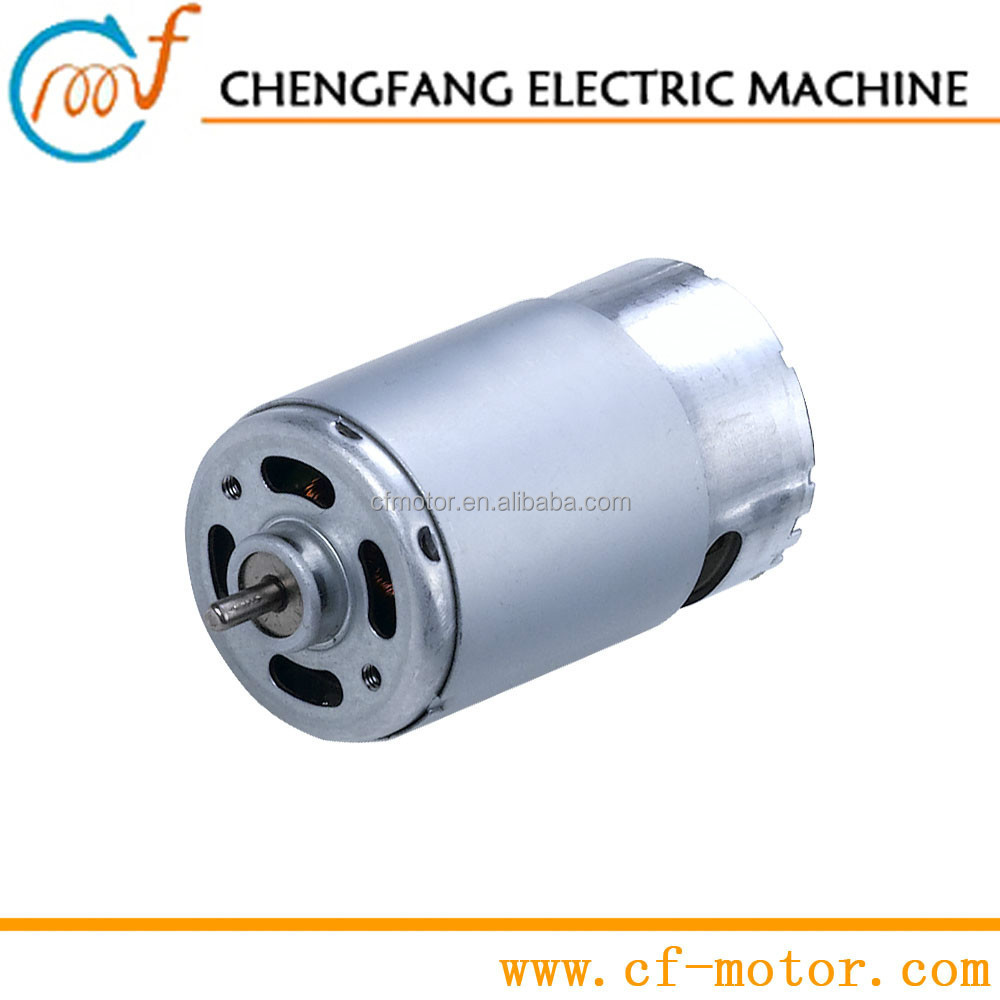 high torque low rpm electric motor for electric curtain, cordless driver | RS-550H