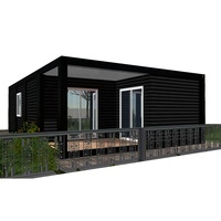 Luxury 20ft container house plan for container hotel with 3 bedroom