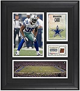 10a609abd Get Quotations · Brandon Carr Dallas Cowboys Framed 15