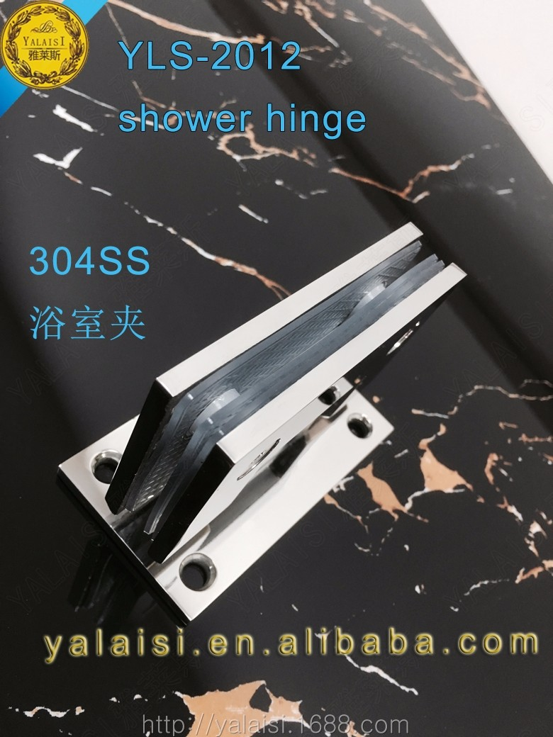degree open both sides clamp polished stainless steel glass 90 degree open both sides clamp polished 304 stainless steel glass door shower hinges for 1