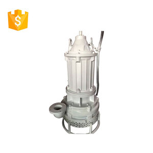 Submersible river sand sucking water dredging machine pump
