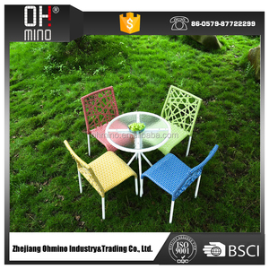 DS-0209 CHEAP modern pe synthetic POLY RATTEN OUTDOOR garden patio FURNITURE used