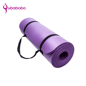 Fashionable Exercise Extra Thick 15mm Yoga Mat With Carrying Strap Low Price Wholesale