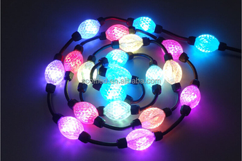 D35 D50 3d Effect Dream Color Digital Balls Ws28011 Rgb Pixel 3 Leds/module  Holiday Lights - Buy Rgb Pixel Christmas Lights,Led Spot Lighting,Color