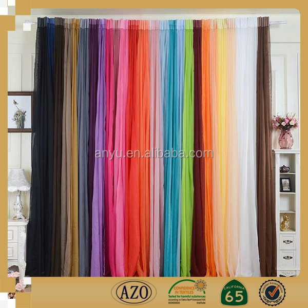 2015 new desigh and popular cheap good quality window curtain