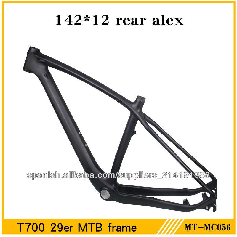 Milagro de montaña marco de la bicicleta del mtb del carbón 29, el ...