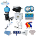 factory swimming pool water filtering accessories full set cleaning equipment