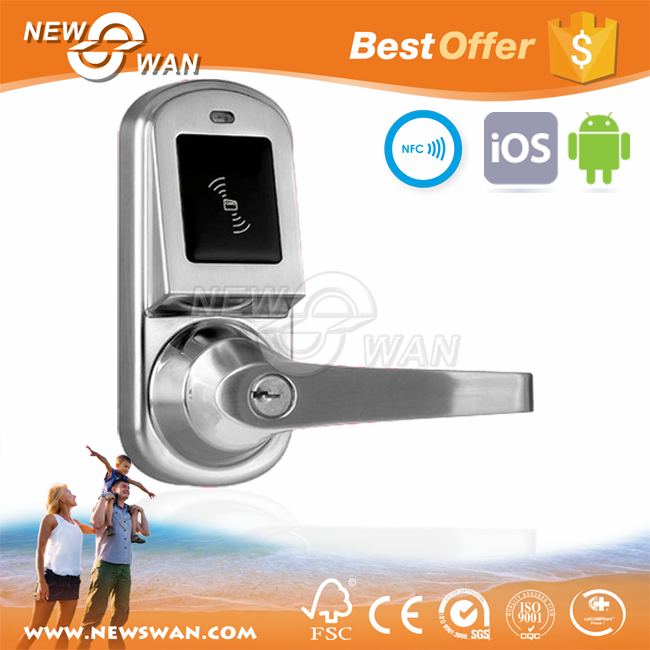 IOS & Andorid NFC Smart Door Lock for Hotel Lock System