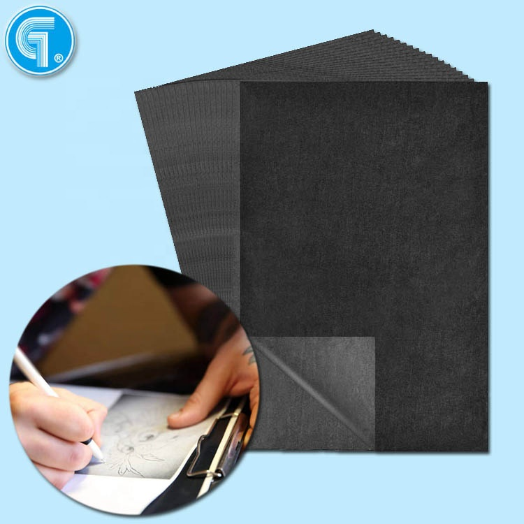 100 Sheets Black Carbon Transfer Tracing Graphite Paper for Wood, Paper, Canvas high High quality carbon paper