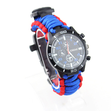 Chine En Gros promotionnel fait à la main Bracelet de Survie Paracord montre