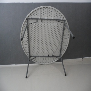 HM-R152 5FT 152cm Best Choice Cheap Price Standing Round wedding Tables and Chairs for event Made in China
