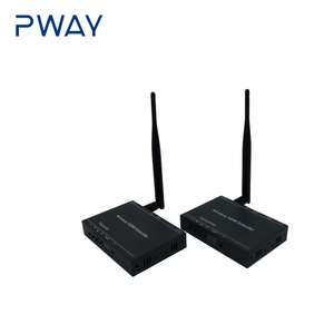 PWAY 2.4GHz/5.8GHz Wireless HDMI video audio transmitter receiver 1080P wireless HDMI extender with loop out up to 100m