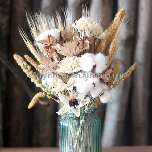 Gandum Gandum Alami Katun Bola Krisan Bunga Banyak Untuk Hotel Centerpieces Buy Bunga Gandum Katun Bunga Bunga Kerajinan Product On Alibaba Com