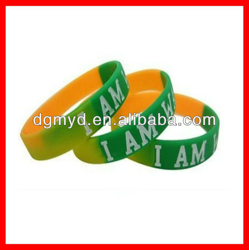 2013 Hottest charming silicone negative sport ion bracelet