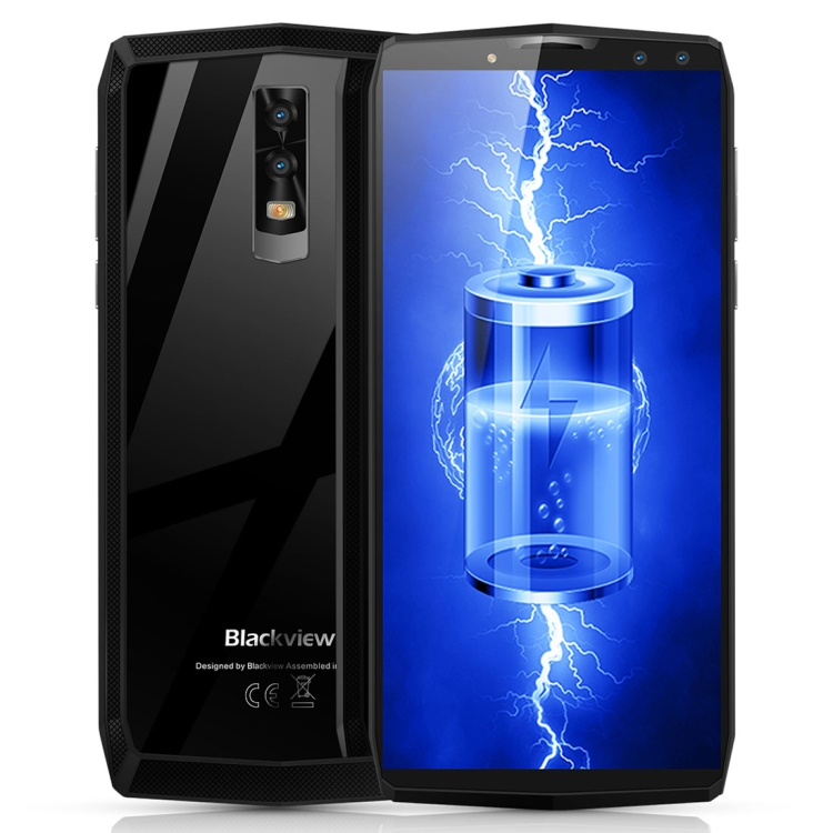 Hot sale 11000mAh Blackview P10000 Pro ram 4GB rom64GB 5.99inch Dual Back Front Cameras Face recognition mobile phone