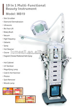 China High Frequency Multi-functional Beauty Machine Beauty Salon Equipment 19 in 1