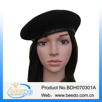 Wholesale Alibaba Men s Wool Beret Hat 747e3c928cc